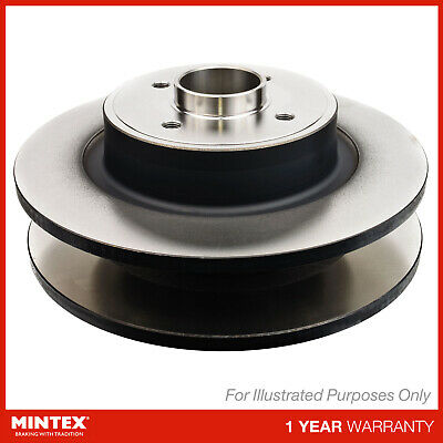 Matching OE Quality Mintex Front Solid Brake Discs Set Pair