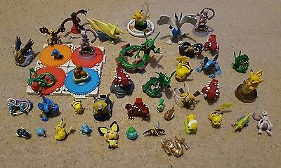 Pokemon Figure Bundle - Pikachu, Lugia, Tomy, Moncolle And Plenty Of Other Rares
