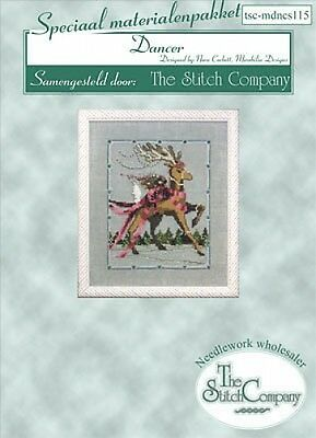 Mirabilia Cross Stitch Accessories Pack Christmas Eve Couriers Dancer Reindeer