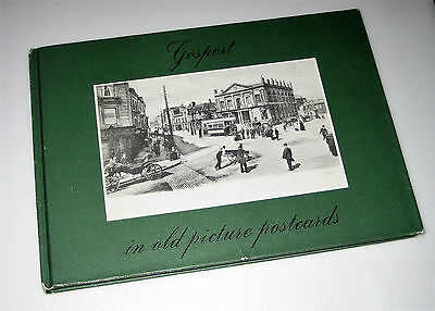 1985 Book GOSPORT IN OLD PICTURE POSTCARDS Incl Lee-on-the-Solent