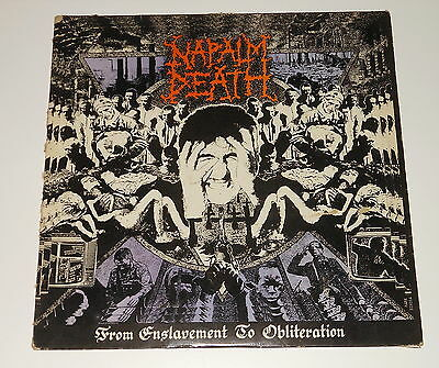 Napalm Death - LP - From Enslavement To Obliteration - Earache MOSH 8