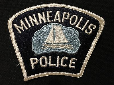 Mimmeapolis Minn  Police  Shoulder Patch