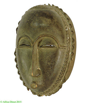 Yaure Mask with Serrated Beard Cote d'Ivoire African Art