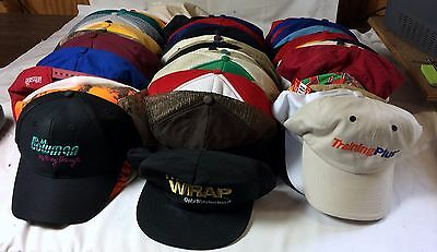 Large Vintage Lot of (58) Snapback Baseball Cap Collection - Miscellaneous NEW