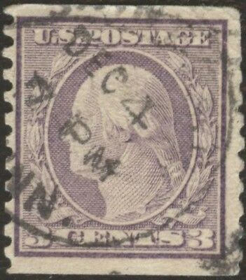 Stamps United States # 494, 3¢, 1916, lot of 1 used stamp.