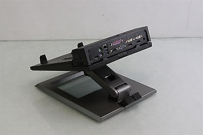 Dell TC6RT Notebook E-View Stand + Dell-E PR02X Port Replicator Docking Station