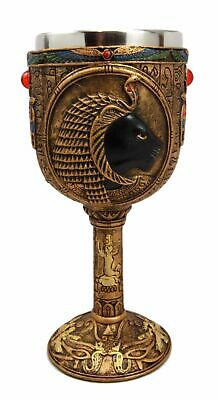Ancient Egyptian Goddess Of Divine Retribution & War Sekhmet 6oz Wine Goblet Cup