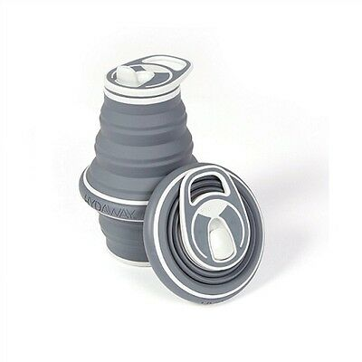 Hydaway Collapsible Bottle Charcoal Large 21oz
