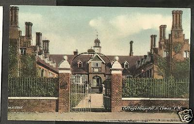 HKN Early Postcard, The Cottage Hospital, Cowes, Isle of Wight