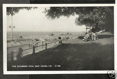 HKU Early Postcard, The Childrens' Pool, East Cowes, Isle of Wight