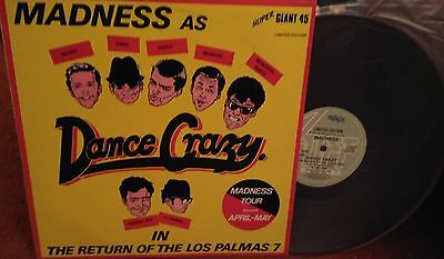 "Madness - The Return Of The Los Palmas 7 AUSTRALIA RELEASE 12"" SINGLE + INSERT"