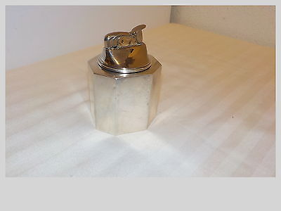 Vintage Tiffany & Co. Sterling Weighted Silver Tabletop Cigarette Lighter Evans
