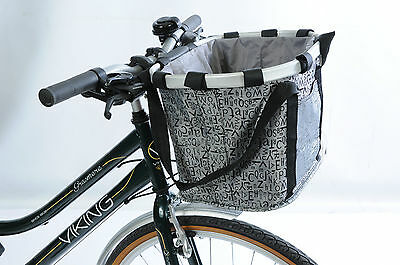 Front Luggage Carrier Soft Bag Pouch Quick Release For Handlebar Bike Bag/basket