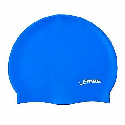 Finis - Silicone Solid Bonnet - Silicone Solid Cap - [3.25.002.103] [Bleu] NEUF