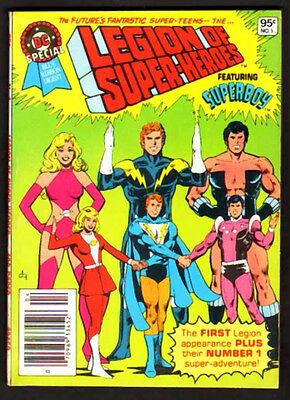 Dc Special Blue Ribbon Digest 1 9.2 Nm 1980 Legion Of Super-Heroes High Grade