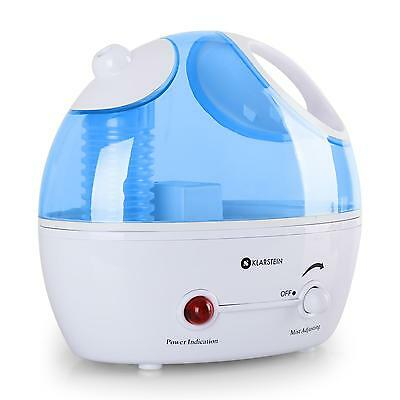 [Occasion] Humidificateur D Air A Ultrasons Brumisateur Bac Amovible 1,4L 25W
