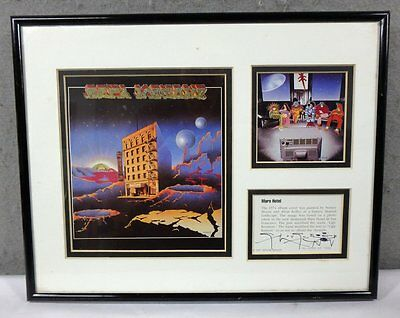 Limited Edition Grateful Dead 'MARS HOTEL' signed mouse / kelley Lithograph