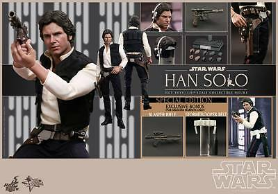 Hot Toys 1/6 Star Wars Episode Iv A New Hope Exclusive Mms261 Han Solo Figure