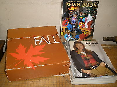 1992 fall & christmas wish book SEARS CATALOG