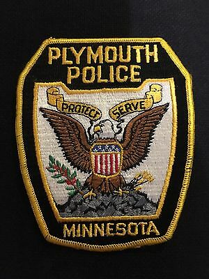 Plymouth Minnesota  Police  Shoulder Patch