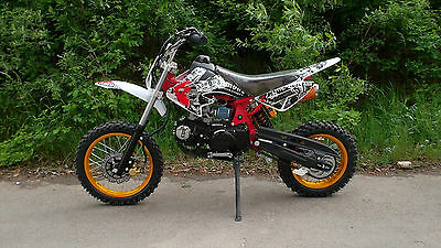 Enduro Cross Vollcross Dirt Bike Pocket Pit 125 12PS !! 125cc 125ccm 14/ 12 Zoll