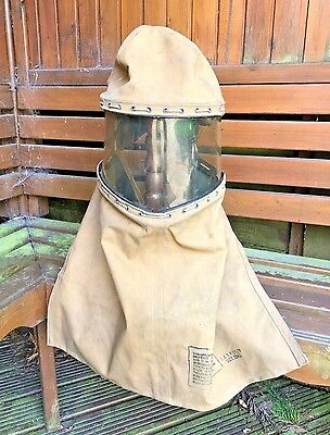 Ww2 Hood Respirator Invalid Disabled 1943 Dated,rare Original.