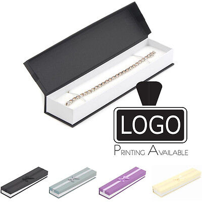 Premium Jewellery Gift Bracelet Watch Necklace Box LALP04 (Printing Available £)