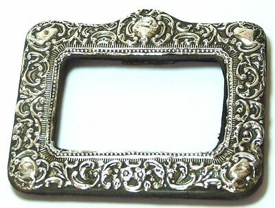 Antique Silver Frame Art Nouveau Photo Picture Frame Birmingham 1905