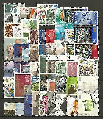 Great Britain, 54 Various, Used