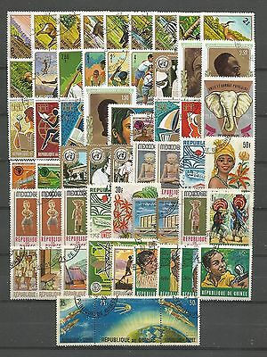 Guinea, 57 Various, Used