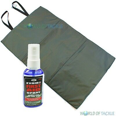 Unhooking Mat and Fish Aid Spray Antiseptic / Antibacterial Spray 50ml