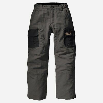 Jack Wolfskin Kids Asylum Pants, Warm Winter trousers for Kids