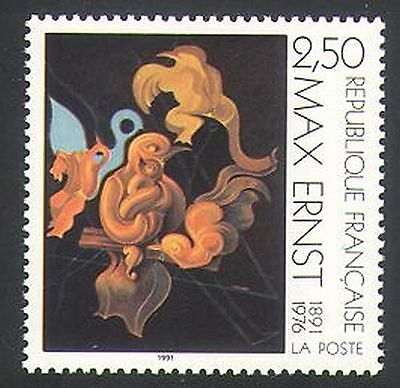 France 1991 Max Ernst/Modern Art/Contemporary/Painting/Artists 1v( n36109)