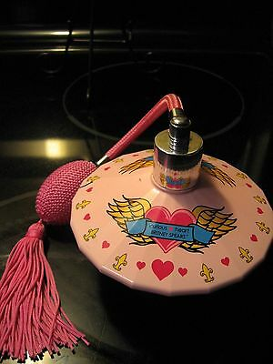 Britney Spears Curious Heart perfume bottle atomizer EMPTY spray pump pink