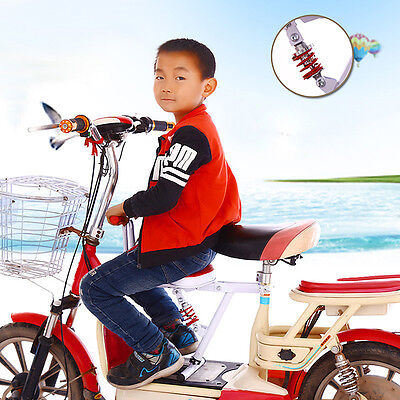 Safety Baby Child Kids Battery Car Bicycle Bike Front Seat Chair Carrier Supply