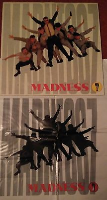 Madness / Suggs - ' 7 ' FRANCE RELEASE VINYL L.P. WITH ULTRA ULTRA RARE BAG !!!!