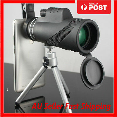 40x60 Clip-on Optical Zoom HD Telescope Camera Lens For Universal Mobile Phone