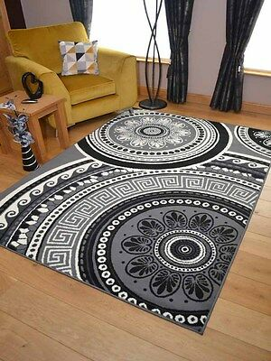 Stunning Grey Silver Small Extra Large Big Huge Size Floor Carpet Rugs Mat Cheap