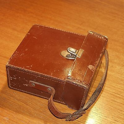 LEATHER CASE VINTAGE  for CAMERA or accessories with short strap