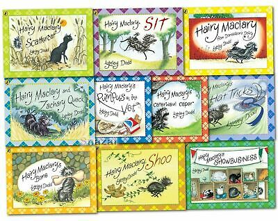Hairy Maclary and Friends Series 10 Books Collection Set By Lynley Dodd