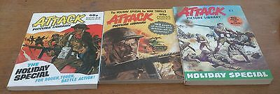3 Attack Picture Library Holiday Specials, 1983-89