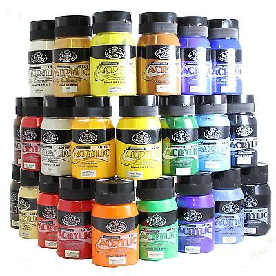 Royal & Langnickel Student Artist 500ml Essentials Acrylic Paint large pots