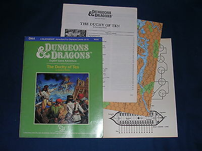Dungeons & Dragons DA4 The Duchy of Ten D&D TSR