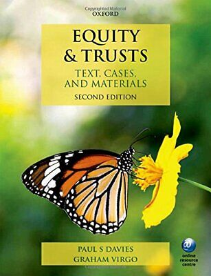 Equity & Trusts Text, Cases, and Materials 2/e by Virgo, Graham Book The Cheap