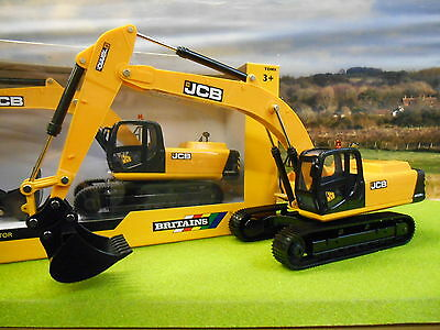 Britains Jcb Js330 Tracked Excavator 43044 1/32 Boxed & New