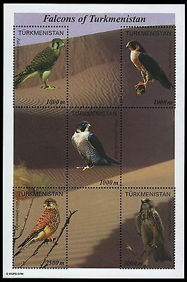 Turkmenistan 2000 - Mi-Nr. Block 8 ** - Vögel / Birds