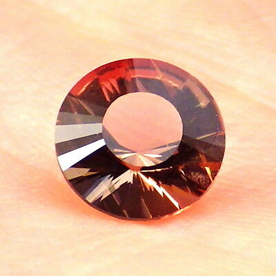 COPPER-PINK OREGON SUNSTONE 0.94Ct FLAWLESS-FROM PANA MINE-SMALL RING SIZE!