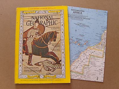 National Geographic Magazine - August 1966 - Map Included - Images For Contents