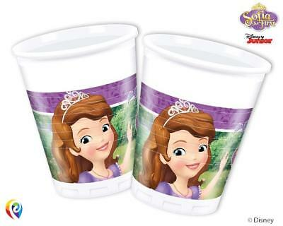 Sofia the First Mystic Isles Plastik Party Becher 8