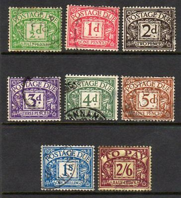 D27-34 1937-1938 Postage Due Set FU(525)